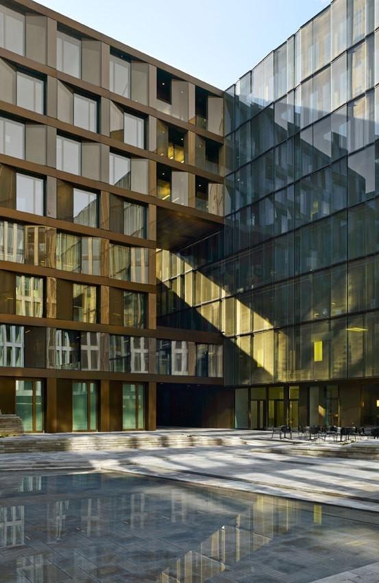 Europaallee 21 - корпус Freischützgasse House © Stefan Müller