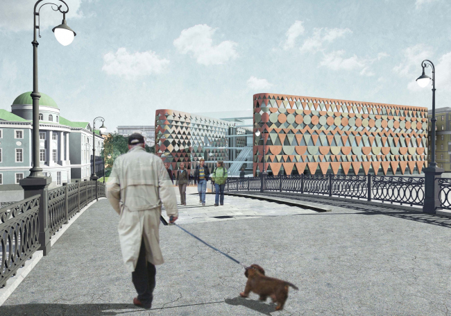 Проект фасадов Третьяковской галереи. АБ «Остоженка»