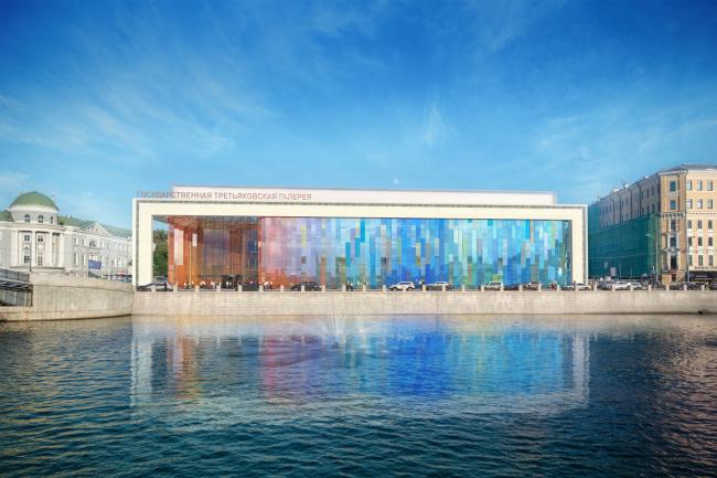 Проект фасадов Третьяковской галереи. UNK project