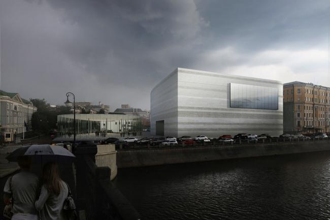 Проект фасадов Третьяковской галереи. «Цимайло ляшенко & партнеры»
