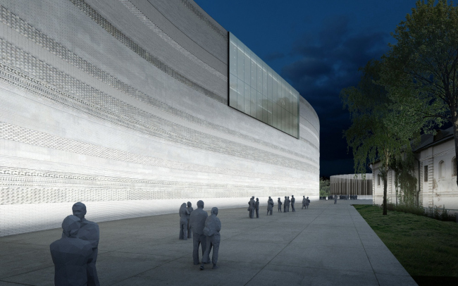 Проект фасадов Третьяковской галереи