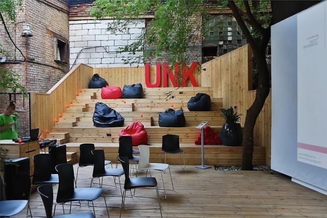 Летняя веранда офиса UNK project