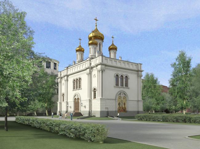 Реконструкция Преображенского храма на Аптекарском острове в Петербурге