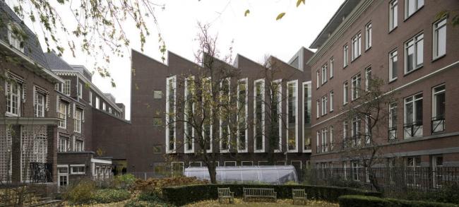 Здание реставрационных мастерских Рейксмузеума