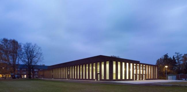 Спортивный и конференц-центр Университета Якобса в Бремене. © Stefan Müller