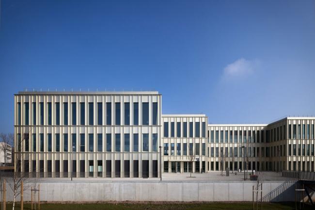 Корпус MBA Школы менеджмента HEC © Yohan Zerdoun