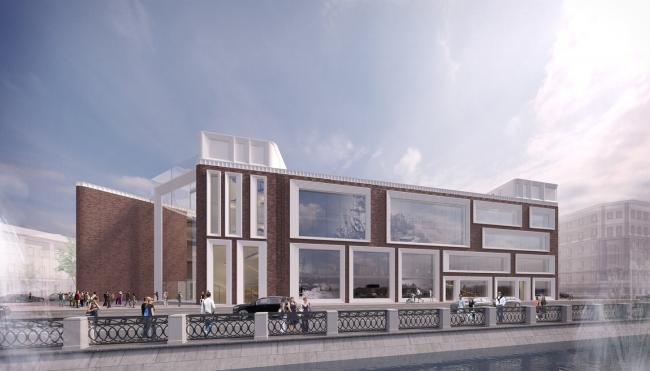 Проект фасадов Третьяковской галереи. Архитектурная мастерская SPEECH