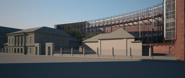 Проект фасадов Третьяковской галереи. Архитектурное бюро «Тотемент/Пейпер»