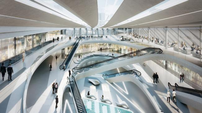 Проект Захи Хадид и BVN Architecture