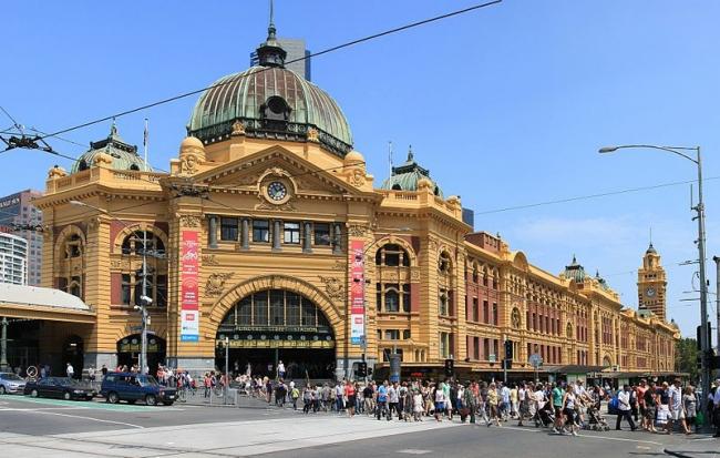 Вокзал Флиндерс-стрит в Мельбурне. Фото: Adam.J.W.C.