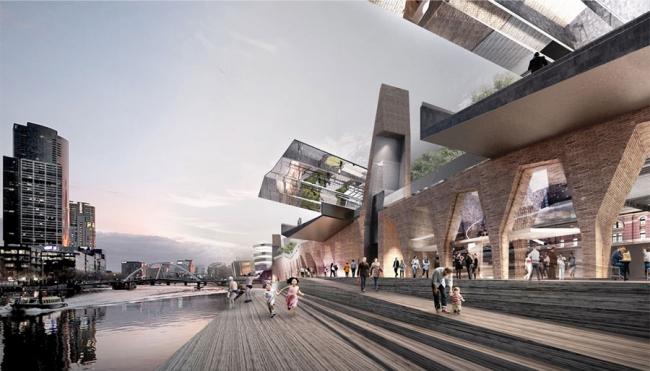 Проект Николаса Гримшо и John Wardle Architects