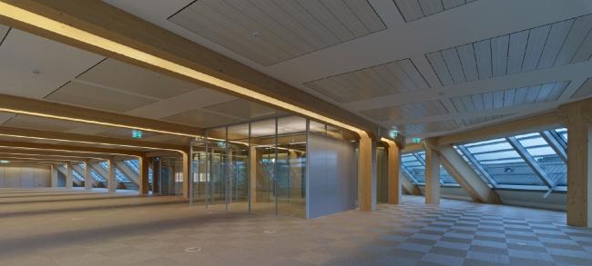 Штаб-квартира медиа-концерна Tamedia © Didier Boy de La Tour/ Tamedia