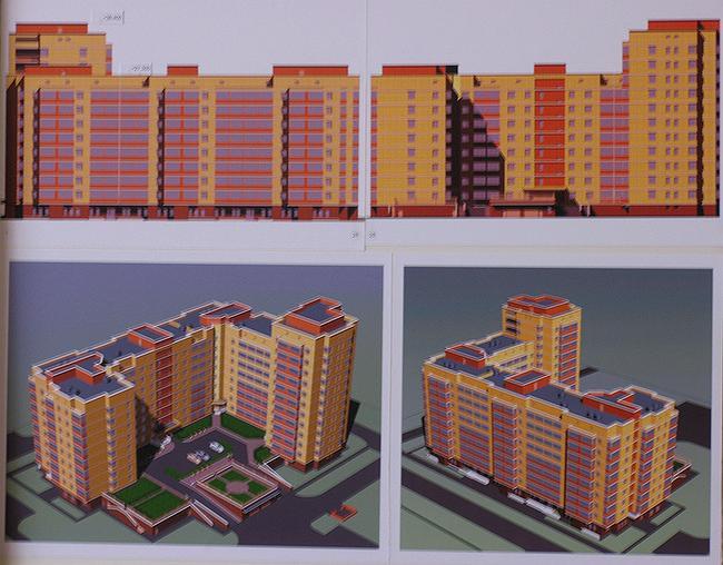 Проект жилого дома в 4-м Красносельском пер.