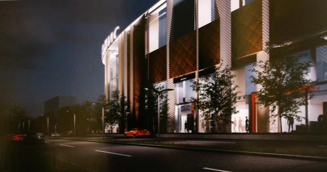 Многофункциональный торговый комплекс «Метрополис», вторая очередь. Проект, 2013 © UNK project