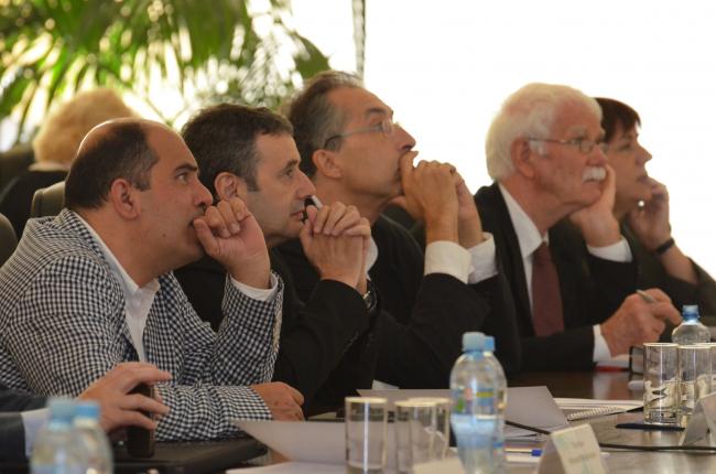 Заседание архсовета. Фотография Елены Петуховой