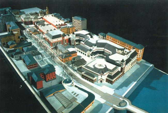 Музейный комплекс Третьяковской галереи. 1996 г.