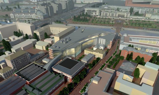 Музейный комплекс Третьяковской галереи. 2012-2013 гг.
