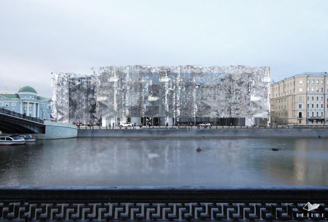 Проект фасадов Третьяковской галереи. ТПО «Резерв»