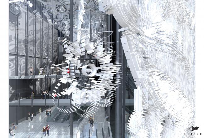 Проект фасадов Третьяковской галереи. ТПО «Резерв». Орнаментальное решение фасадов