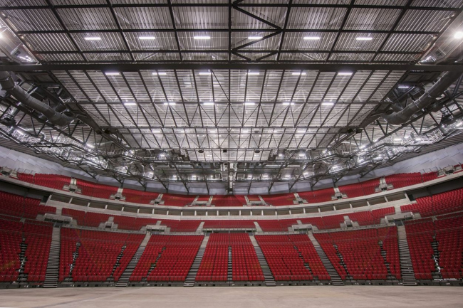 Арена Leeds Arena - First Direct Arena © Populous