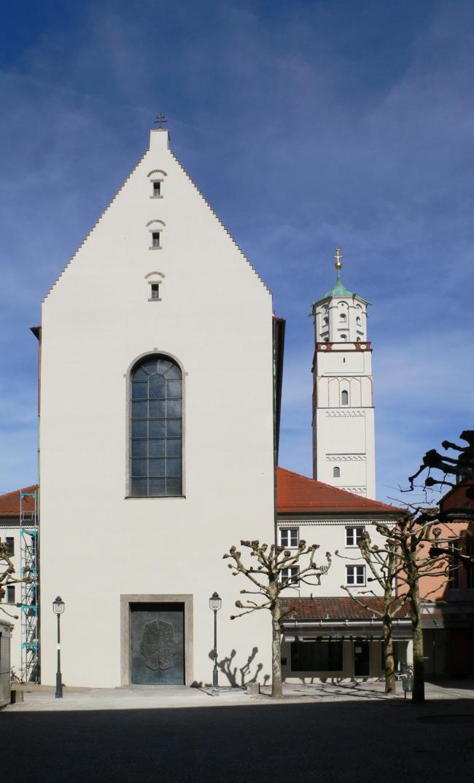 Церковь Санкт-Мориц - реконструкция. Фото с сайта detail-online.com
