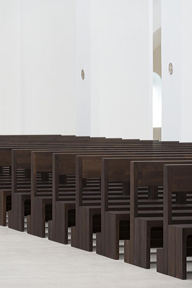 Церковь Санкт-Мориц - реконструкция © Gilbert McCarragher