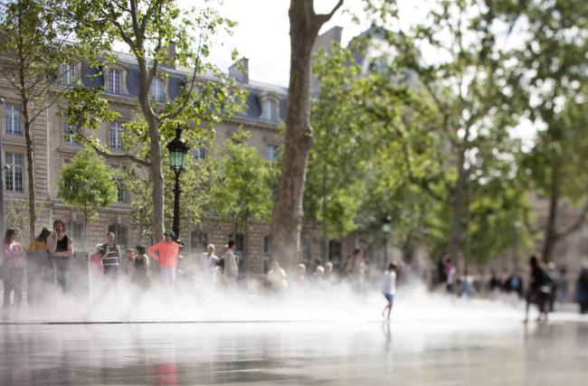 Площадь Республики - реконструкция © Clement Guillaume