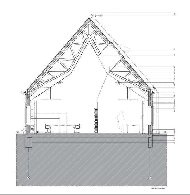 Культурный центр L'Atelier © AAVP Architecture