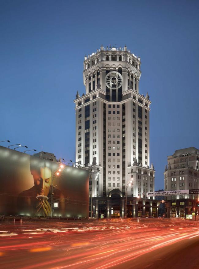 Павелецкая плаза, 2003/2011. © Frank Herfort