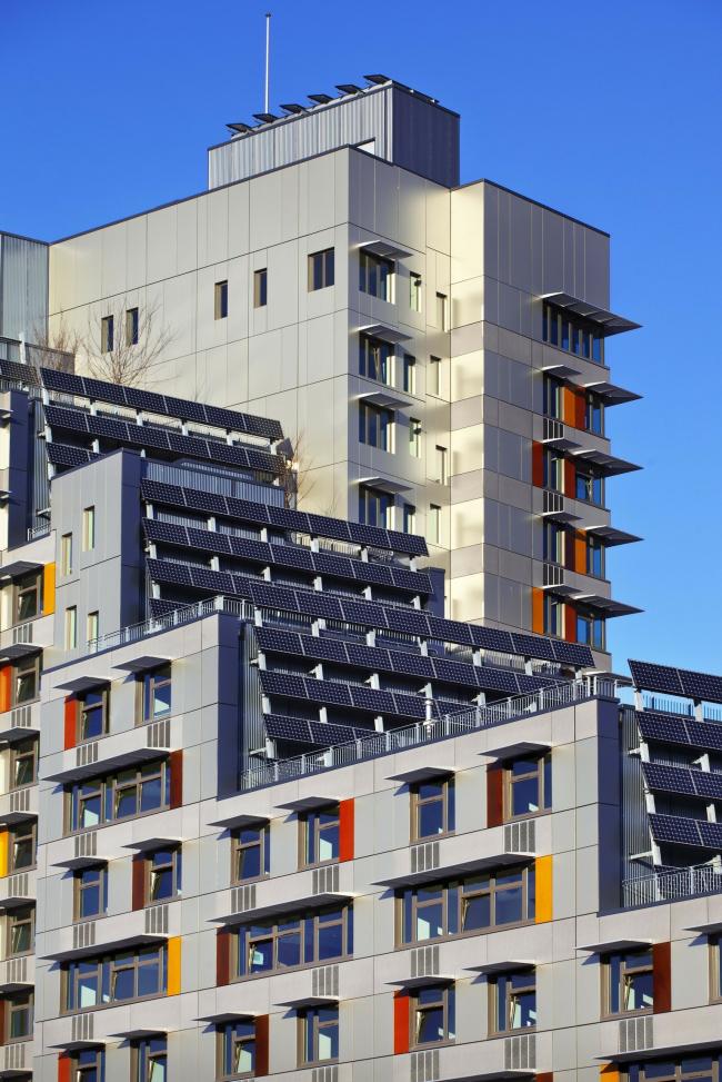 Жилой комплекс Via Verde. © David Sundberg