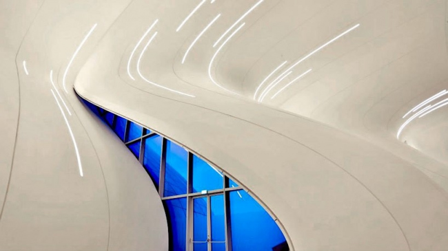 Культурный центр Гейдара Алиева. Изображение предоставлено Культурным центром Гейдара Алиева