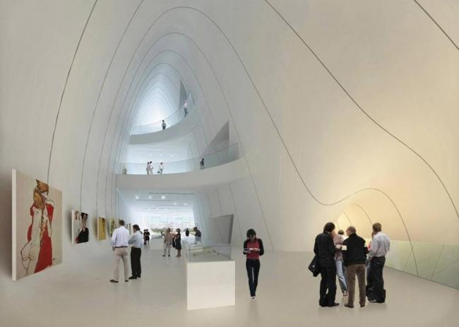 Культурный центр Гейдара Алиева. © Zaha Hadid Architects