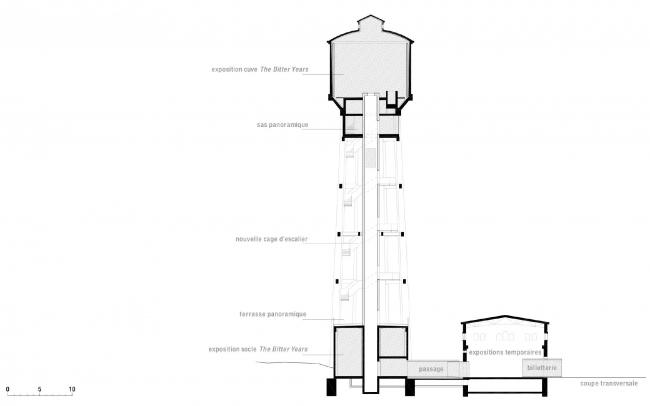 Национальный мультимедийный центр © kaell architecte, Atelier d'architecture Jim Clemes