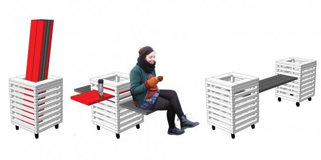 Проект Ивана и Светланы Гадаловых (Санкт-Петербург). Иллюстрация предоставлена организаторами конкурса.