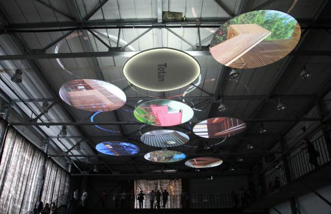 Выставка «Гравитация». Фотография Ю.Тарабариной