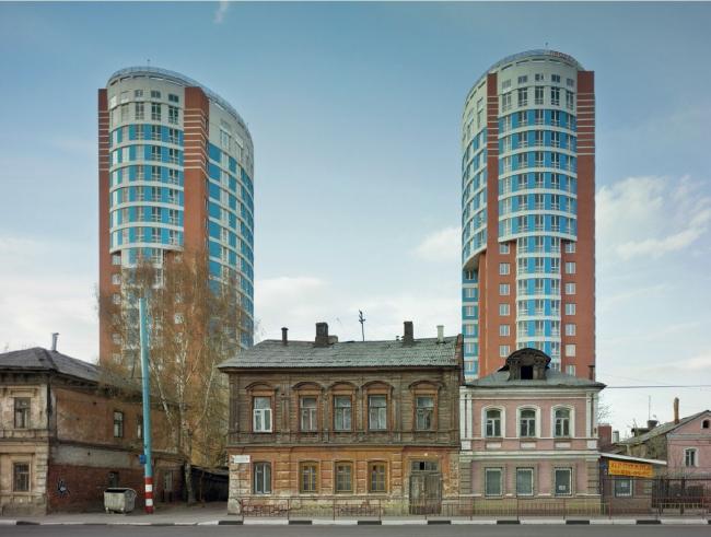 Жилой комплекс. Нижний Новгород, 2005/2011. © Frank Herfort