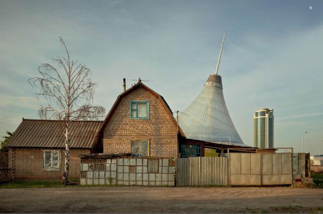 Торговый комплекс Хан шатыр. Астана, 2010/2012. © Frank Herfort