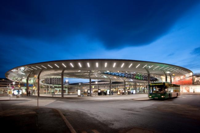 Пересадочный узел вокзала Граца © Thilo Härdtlein