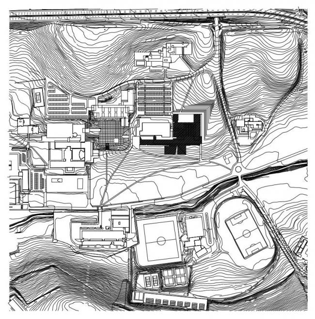 Корпус экономического факультета и магистратуры Университета Наварры © Juan M. Otxotorena