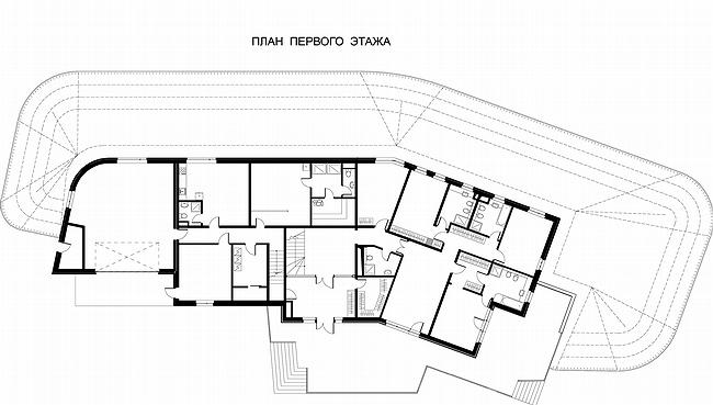 the first floor plan