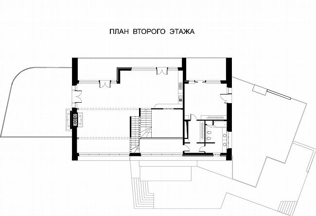 the second floor plan