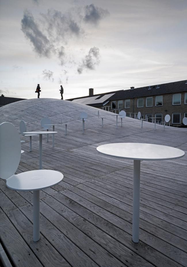 Гимназия Гаммель-Хеллеруп – спортзал © Jens Lindhe