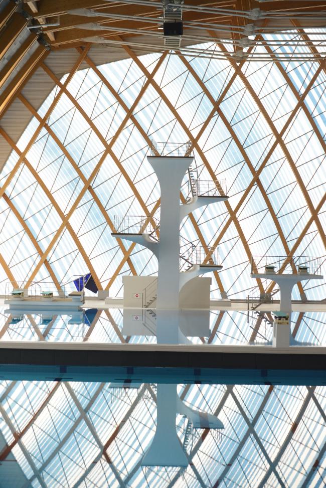 Дворец водных видов спорта в Казани. Вышка для прыжков