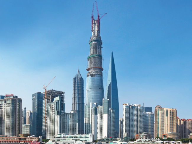 Башня Shanghai Tower