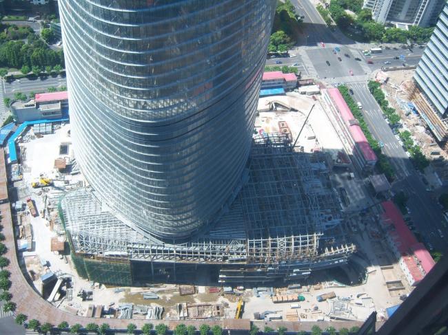 Башня Shanghai Tower. Предоставлено Gensler