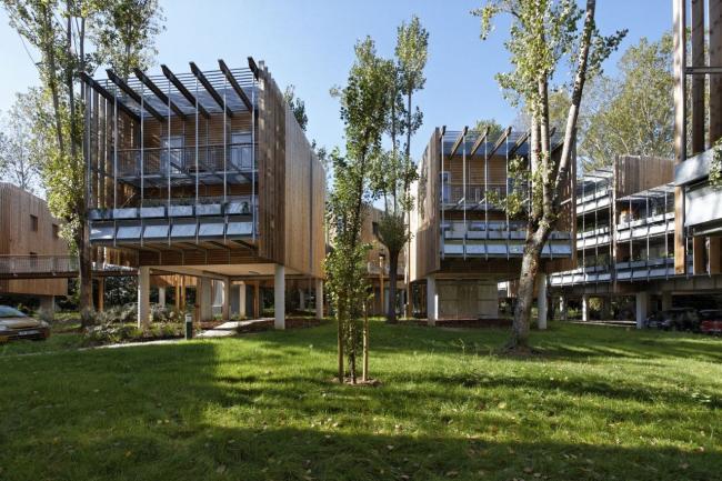 Жилой комплекс La Canopée © Vincent Monthiers