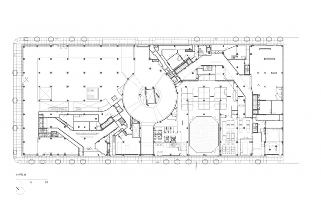Комплекс Clinton Park © TEN Arquitectos