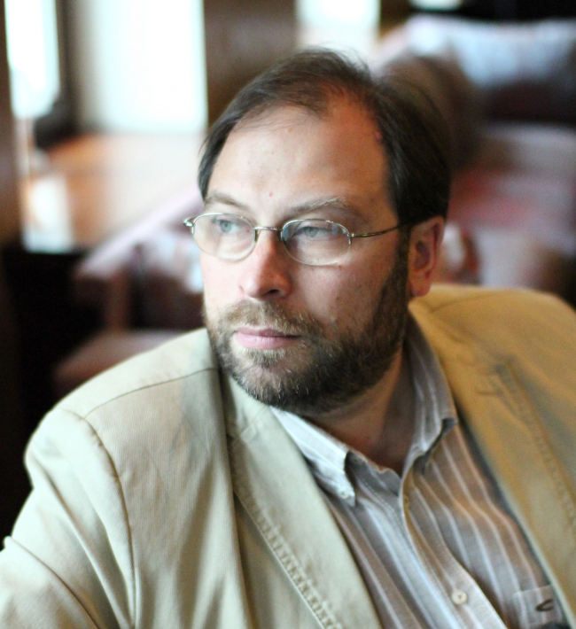 Дмитрий Наринский. Фотография предоставлена RUPA