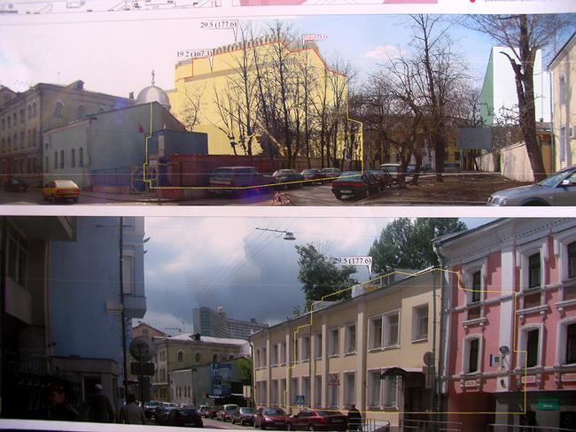 Предпроект гостиницы с подземным паркингом по Борисоглебскому пер., 9, стр3