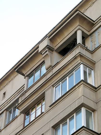 Илл. 12. И.А.Голосов, жилой дом на Садовом кольце в Москве, 1934. © А.Д. Бархин